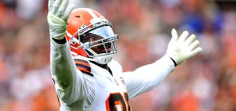 Browns star has Halloween fun at expense of quarterbacks