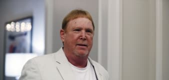 Raiders owner Mark Davis takes responsibility for 'I can breathe' tweet posted after Derek Chauvin conviction