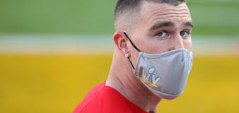 Travis Kelce encourages everyone to get COVID vaccine