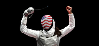 American fencer makes history in Tokyo