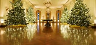 White House reveals 2020 Christmas decor theme
