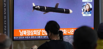 North Korea fires short-range missile to sea