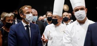 Man throws egg at French President Macron