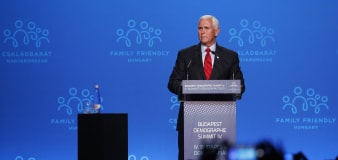 Pence hopeful the SCOTUS will overturn abortion