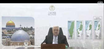 Palestinian leader gives unusually harsh UN address