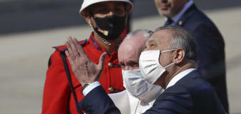 Pope arrives in Iraq despite rising tensions, pandemic