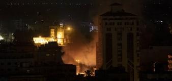 Israeli tanks pound Gaza ahead of possible invasion