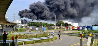One dead after explosion at German industrial park