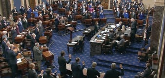GOP largely votes against holding Trump impeachment trial
