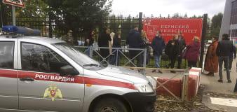 Shooting in Russian university leaves 8 dead