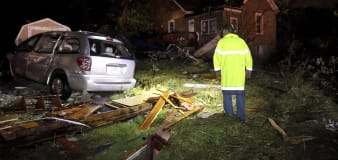Suspected tornadoes cause damage in Missouri, Illinois