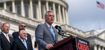 Dems ask McCarthy to recant Pelosi taunt