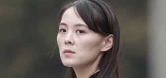 Kim's sister says N.Korea could be open to talks