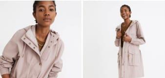 Swipe this Madewell raincoat on sale