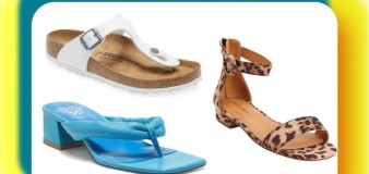 8 chic sandals for wide feet