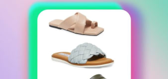 3 puffy sliders you to shop on sale at Nordstrom
