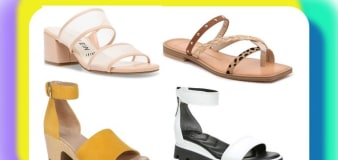 DSW has up to 50% off summer shoe styles