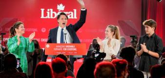 Trudeau narrowly wins third term as Prime Minister
