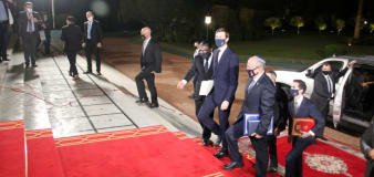 Nation gives Trump highest award for Mideast work