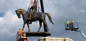 State capital unveils replacement after removing Confederate statue