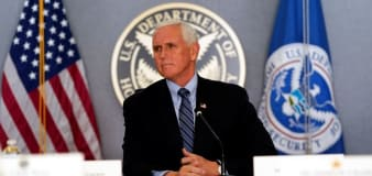 Pence calls Harris to offer assistance with transfer