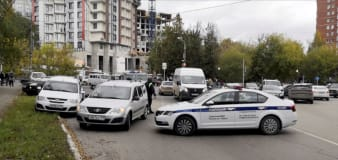 8 killed in Russian university shooting, gunman wounded