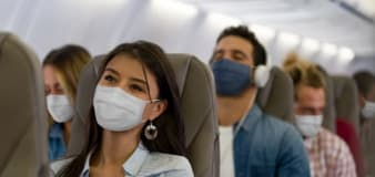 Planes safe from virus transmission with mask: Study