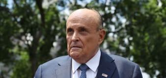 Giuliani caught in compromising 'Borat' scene