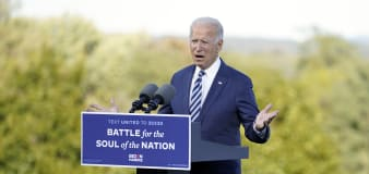 Biden: Trump 'turned his back' on Americans