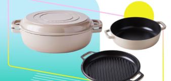 Get a 2-in-1 Dutch oven and grill pan for half off