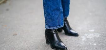 Black booties we love from Nordstrom's boot sale