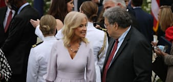 Conway jumps off Trump train with dose of reality