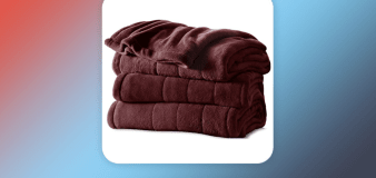 Amazon shoppers adore this heated blanket