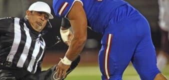 Texas high school player charged in attack on ref