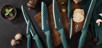 Amazon shoppers love this best-selling knife set that's only $25 — 'These knives are sharp'