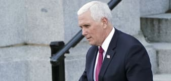 Pence's farewell message contains a glaring omission
