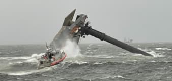 Six rescued, several missing after boat capsizes off Louisiana coast