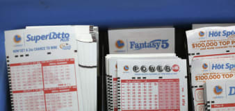 Woman says $26M lottery ticket destroyed in wash