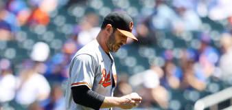 MLB pitcher was 'holding back tears' during emotional start