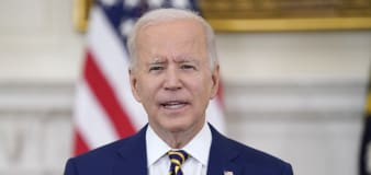 Biden sees glimmer of hope in 'fight of his presidency'