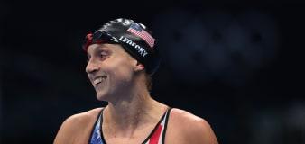 Ledecky finally wins gold in Tokyo