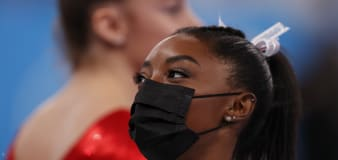 Biles out of Olympic all-around competition