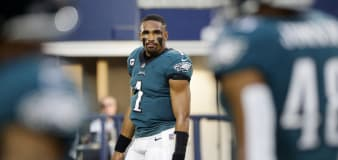 Eagles' QB has gross — but perfect — words after loss
