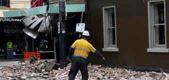 Magnitude 6.0 earthquake strikes near Melbourne