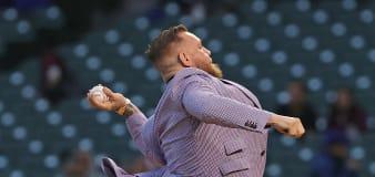 UFC star worse at throwing baseball than a football
