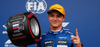 Lando Norris claims unexpected pole in Russia