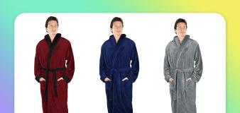 Shoppers say this robe feels like 'a big hug'
