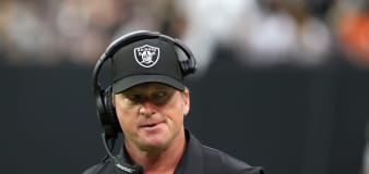 Jon Gruden breaks silence with cryptic comment
