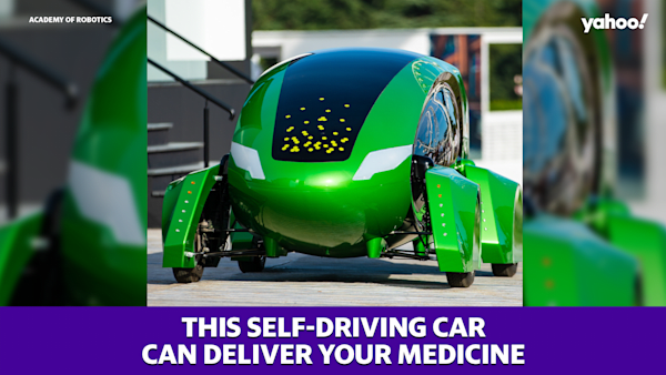 This self-driving car can deliver your medicine