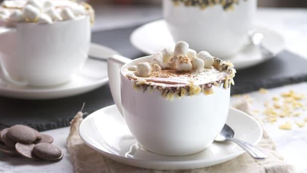 Crockpot Coconut Hot Chocolate